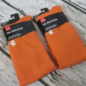 UA Soccer Solid Over The Calf Medium 4-8.5 lot!